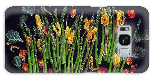 Think Spring Asparagus Galaxy Case