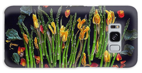 Think Spring Asparagus Galaxy Case