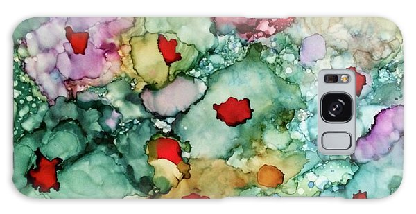 Galaxy Case featuring the painting Think Spring by Denise Tomasura