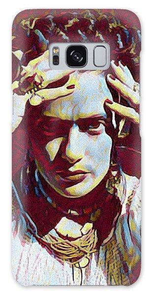 Thinking Frida Galaxy Case by Gary Grayson