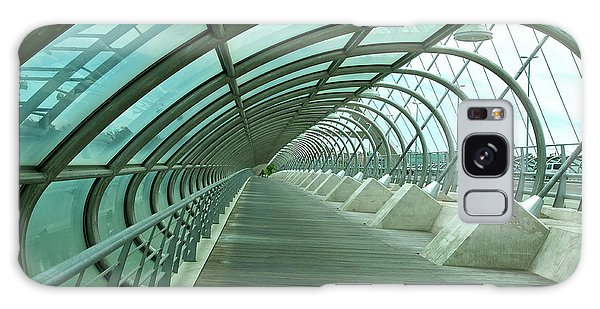 Third Millenium Bridge, Zaragoza, Spain Galaxy Case