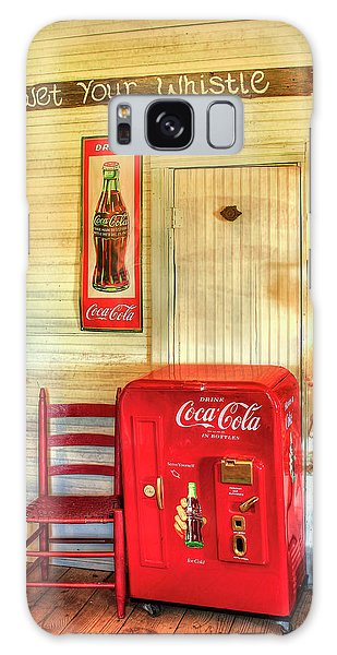 Thirst-quencher Old Coke Machine Galaxy Case