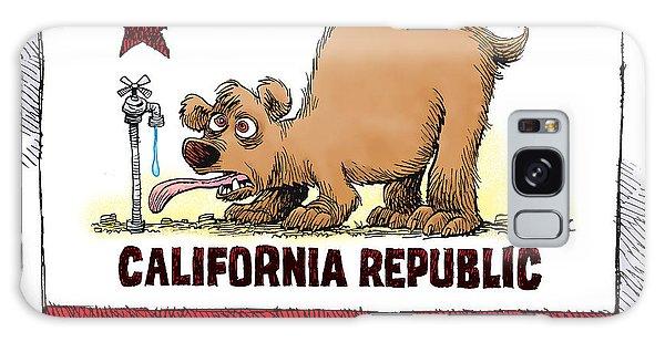 Thirsty California Flag Galaxy Case