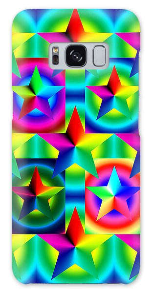 Thirteen Stars With Ring Gradients Galaxy Case
