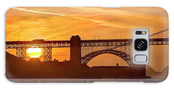 Galaxy Case featuring the photograph This Bridge Never Gets Old by Peter Thoeny