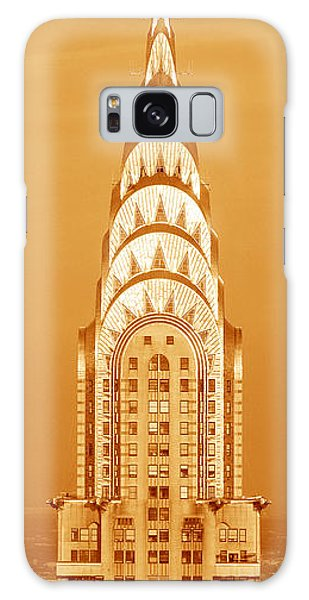 Building Galaxy Case - Chrysler Building At Sunset by Panoramic Images
