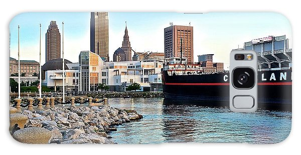 This Is Cleveland Galaxy Case by Frozen in Time Fine Art Photography