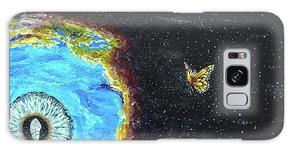 Galaxy Case featuring the painting This Is Where... by Kevin Daly