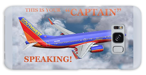 This Is Your Captain Speaking Southwest Airlines Galaxy Case