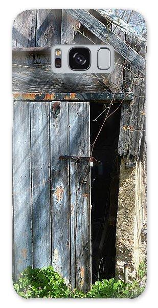 This Old Barn Door Galaxy Case