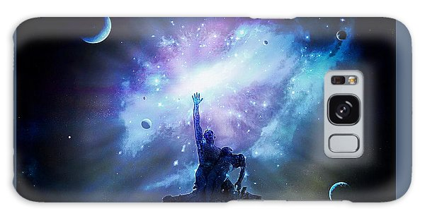 This Poor Man Cried, And The Lord Heard Him, And Saved Him Out Of All His Troubles. Galaxy Case