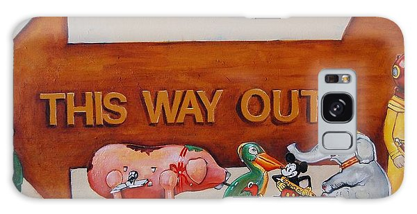 This Way Out Galaxy Case