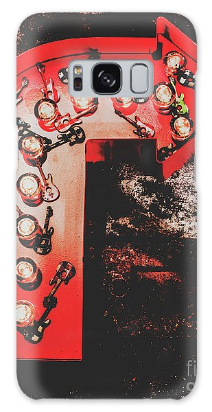 Rock And Roll Galaxy Case - This Way To Rock City by Jorgo Photography - Wall Art Gallery