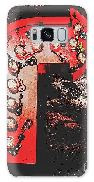 Rock Music Galaxy Case - This Way To Rock City by Jorgo Photography - Wall Art Gallery