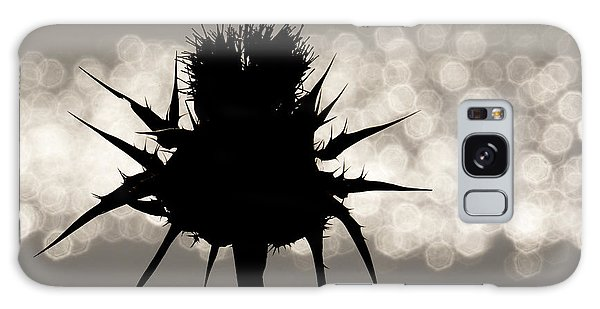 Thistle Silhouette - 365-11 Galaxy Case