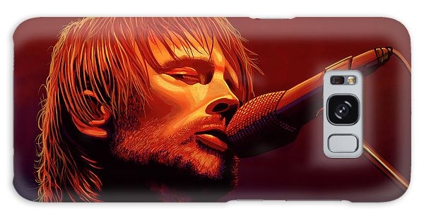 Drum Galaxy Case - Thom Yorke Of Radiohead by Paul Meijering