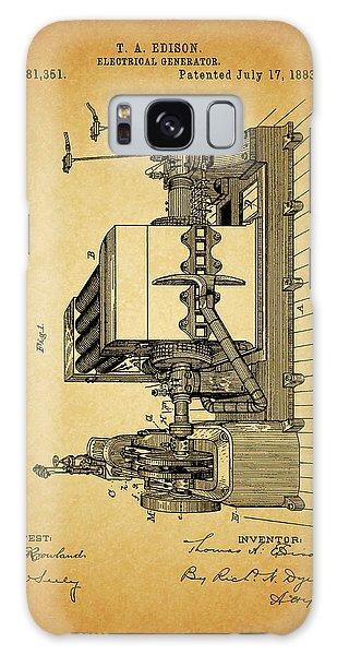 Thomas Edison Generator Patent Galaxy Case by Dan Sproul