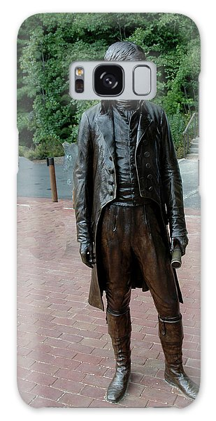 Thomas Jefferson At Monticello Galaxy Case