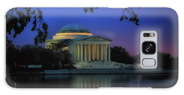 Thomas Jefferson Memorial Sunset Galaxy Case