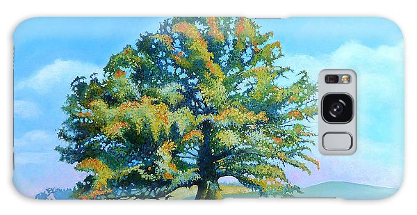 Thomas Jefferson's White Oak Tree On The Way To James Madison's For Afternoon Tea Galaxy Case by Catherine Twomey