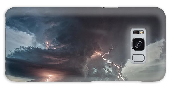 Thor Strikes Again Galaxy Case by James Menzies