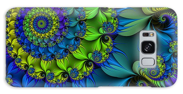 Thorn Flower Galaxy Case