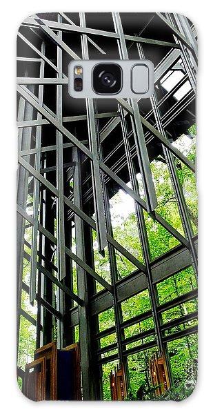 Thorncrown Chapel Arkansas Sanctuary Architecture Galaxy Case