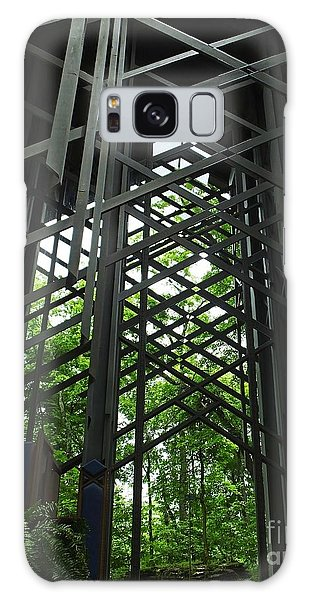 Thorncrown Chapel Sanctuary In The Ozark Mountains Galaxy Case