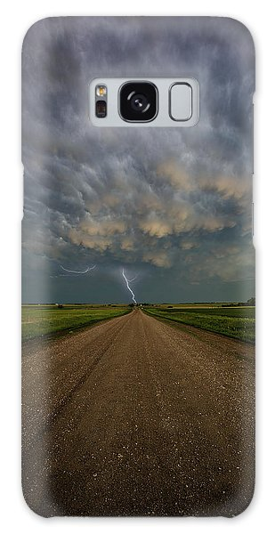 Galaxy Case featuring the photograph Thor's Chariot  by Aaron J Groen