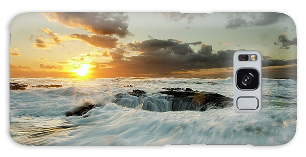 Thors Well Cape Perpetua 1 Galaxy Case by Bob Christopher