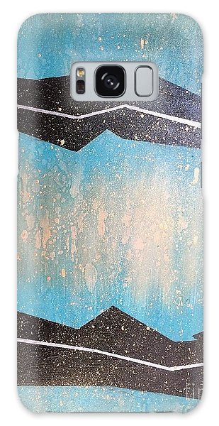 Those Who Enter This Land Galaxy Case by Theresa Kennedy DuPay