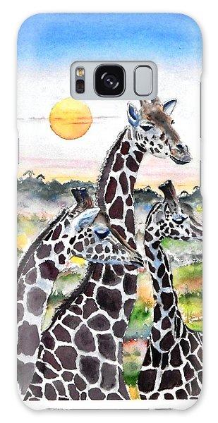 Three Giraffes    Sold Galaxy Case