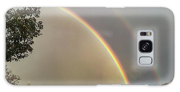Thread City Double Rainbow  Galaxy Case