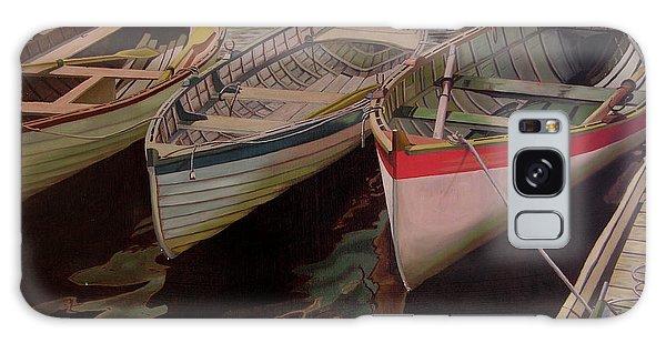 Three Boats Galaxy Case
