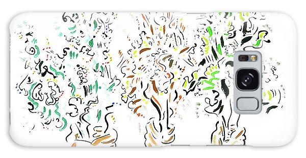 Galaxy Case - Three Bouquets by Dave Martsolf