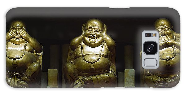 Three Buddhas Galaxy Case