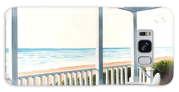 Adirondacks By The Sea - Prints From Original Oil Painting Galaxy Case