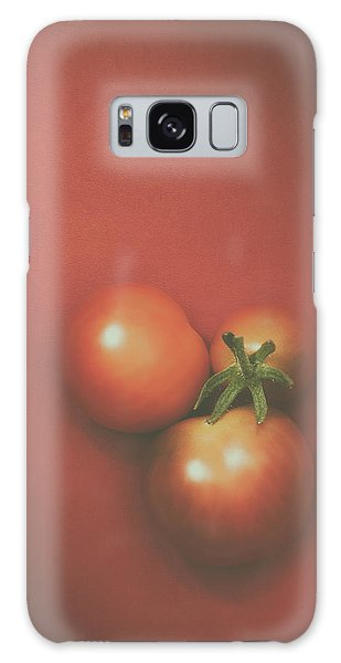 Three Cherry Tomatoes Galaxy Case by Scott Norris