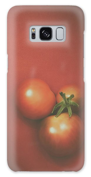 Food Galaxy Case - Three Cherry Tomatoes by Scott Norris