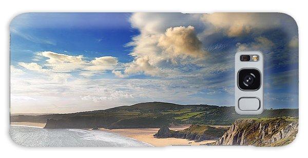 Three Cliffs Bay 1 Galaxy Case