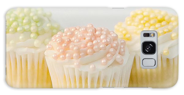 Three Cupcakes Galaxy Case by Art Block Collections
