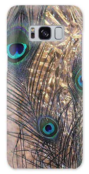 Three Feathers Galaxy Case