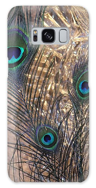 Three Feathers Galaxy Case