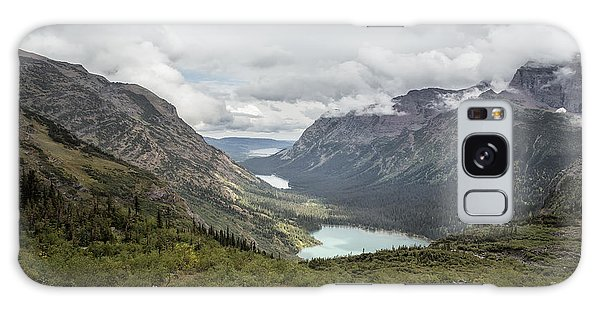 Three Lakes Viewed From Grinnell Glacier Galaxy Case