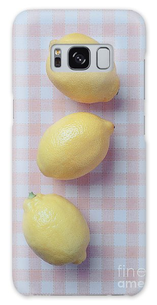Three Lemons Galaxy Case