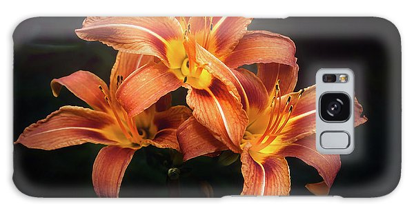 Lily Galaxy S8 Case - Three Lilies by Scott Norris