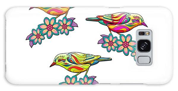 Song Birds Galaxy Case - Three Little Birds 2 by Mick Flodin