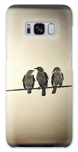 Three Little Birds Galaxy Case