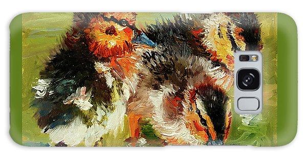 Three Little Ducks Galaxy Case by Janet Garcia