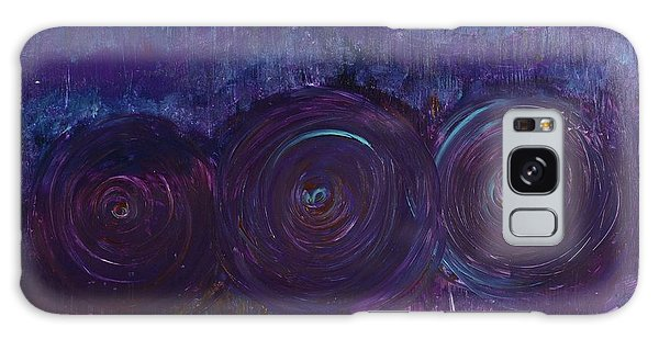 Three Mandalas Galaxy Case